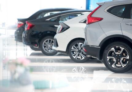 white-floor-new-car-parking